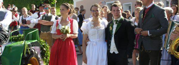 Hochzeit von Gloria und Christof