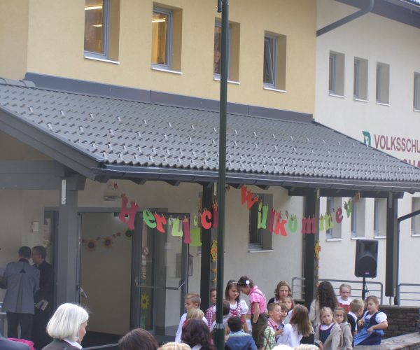 Bildungszentrum in Mörtschach – Einweihung